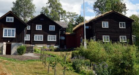 Sigrid Undsets hjem Bjerkebæk på Lillehammer.