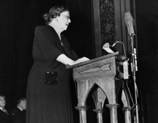 Sigrid Undset holdt mange taler og foredrag
