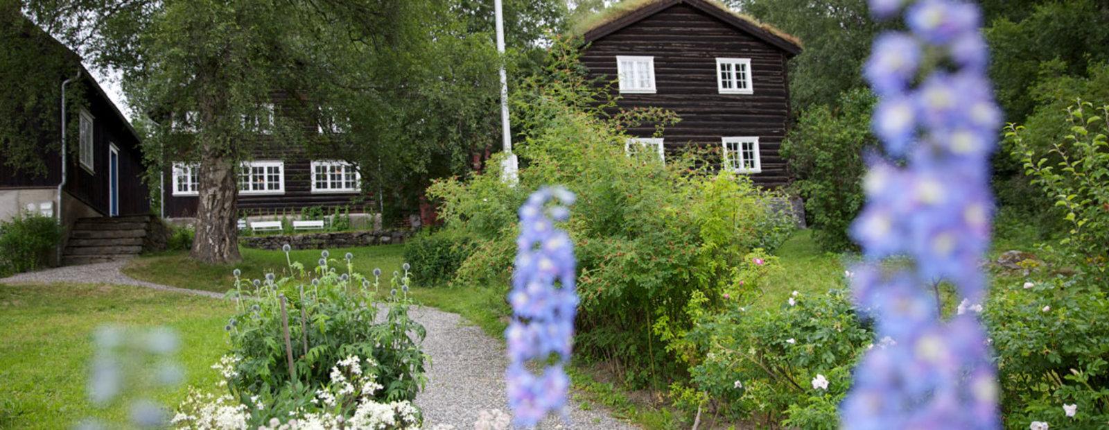 Sigrid Undsets hjem Bjerkebæk på Lillehammer