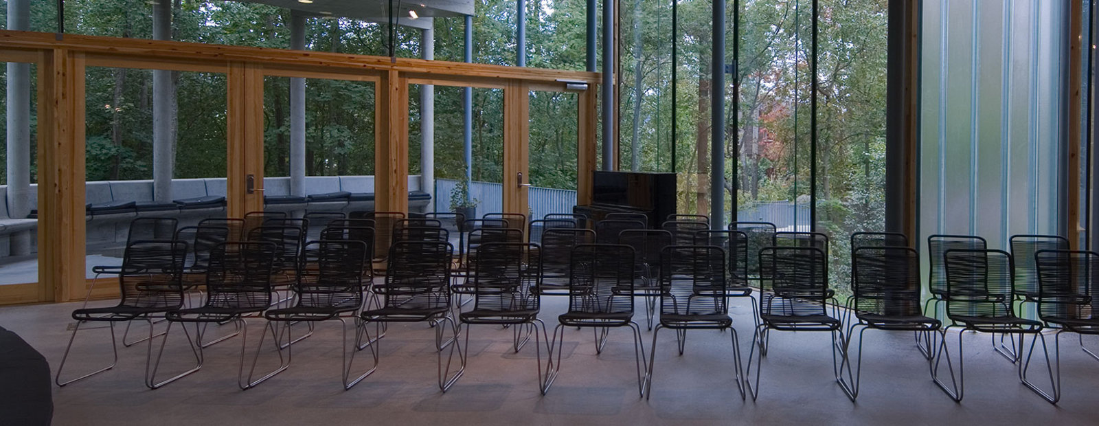 Foredragssalen på Bjerkebæk, Sigrid Undsets hjem, Lillehammer