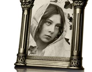 Sigrid Undset som ung.