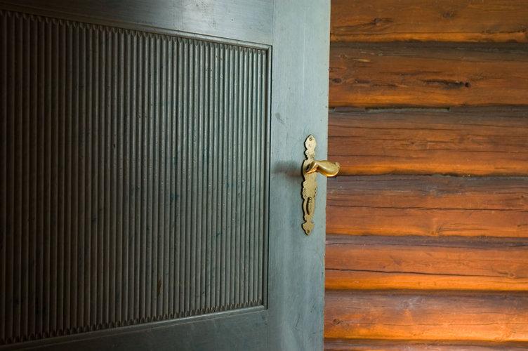 Dørhåndtak på Bjerkebæk