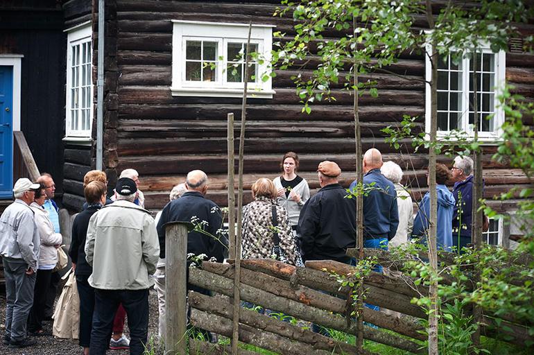 Omvisning på Bjerkebæk Sigrid Undsets hjem